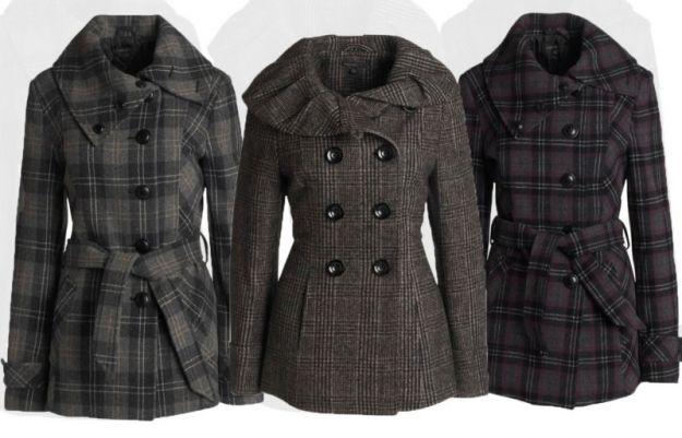 Płaszcze i kurtki Przegląd jesień zima 20102011 Trendy