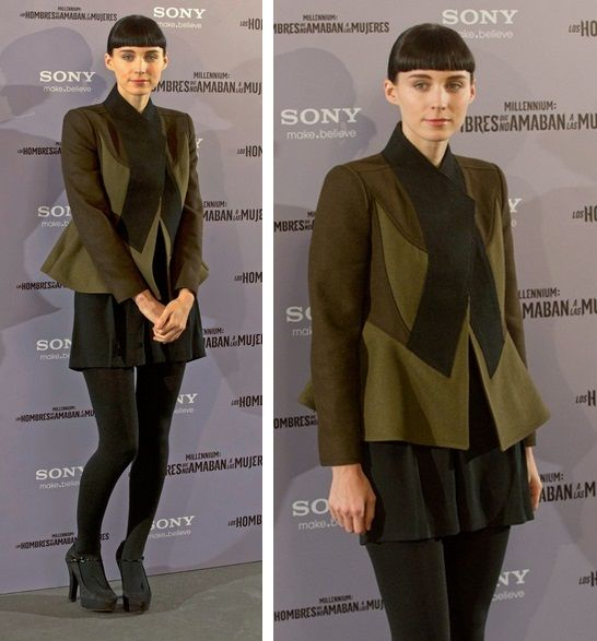 Styl Rooney Mara