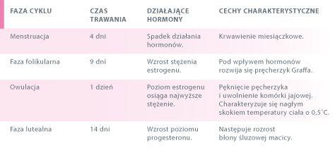 Miesiączka, upławy i napięcie przedmiesiączkowe podczas cyklu menstruacyjnego