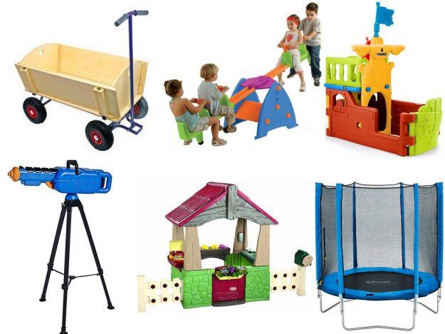 Modne zabawki ogrodowe dla dzieci