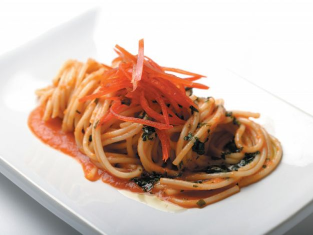 Pikantne spaghetti