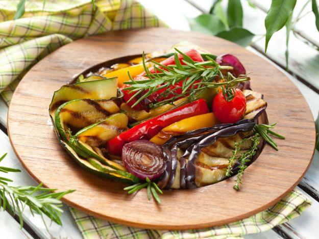 Pieczone warzywa bez tłuszczu