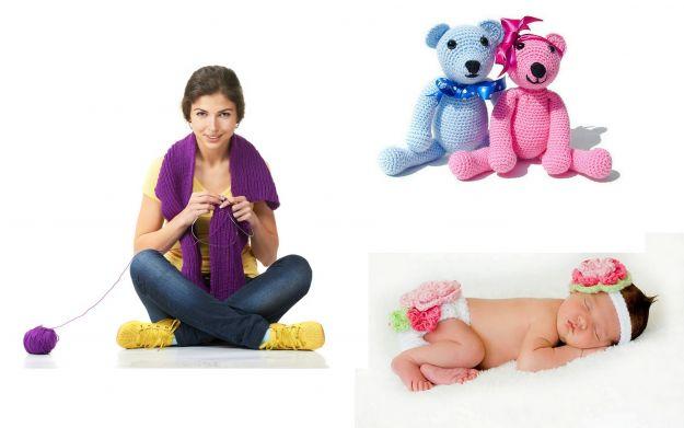 Cuda dla dzieci robione na szydełku i drutach!