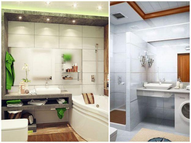 rozwiązania do małych łazienek
