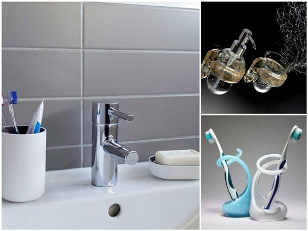 Designerskie dodatki do łazienki