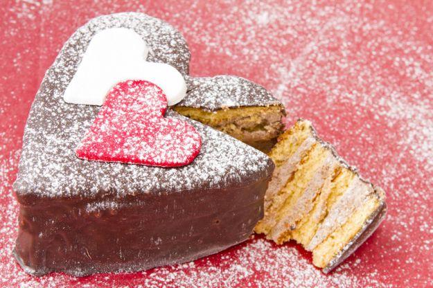 Słodkości z serduszkami