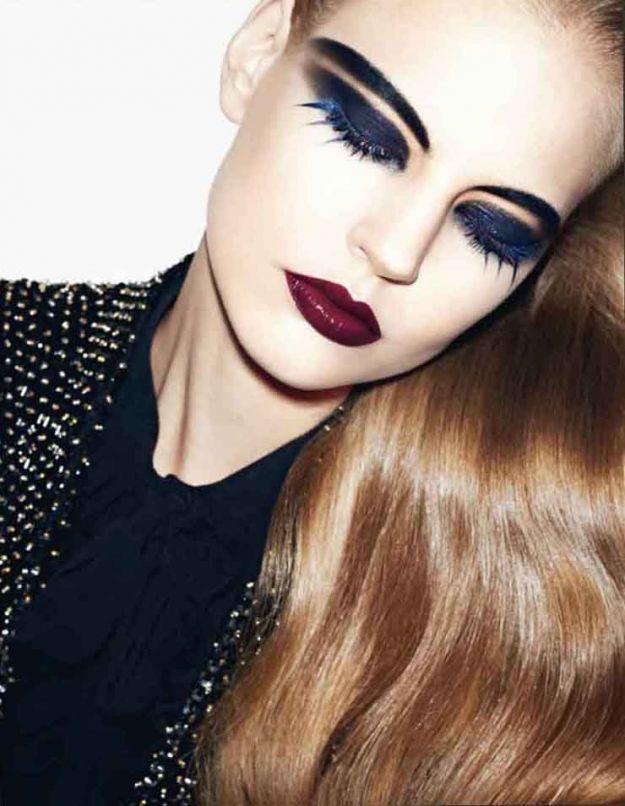 Jesienny make-up wg październikowego Vogue'a