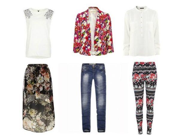 Floral print - trendy 2012/13