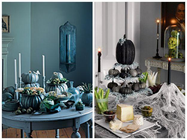 stół na Halloween