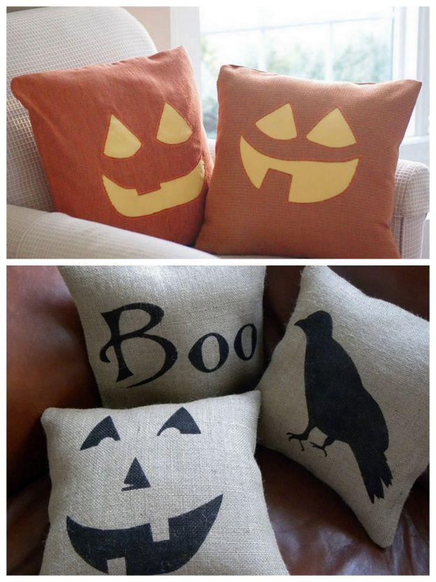 poduszki na Halloween