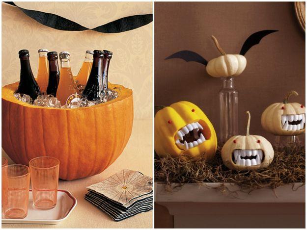 dekorację na Halloween