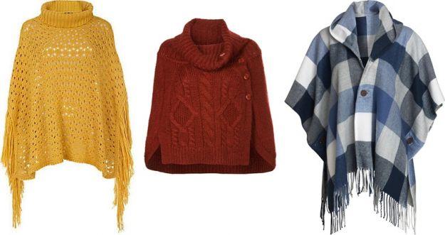 Ponczo - modne, ciepłe i praktyczne!