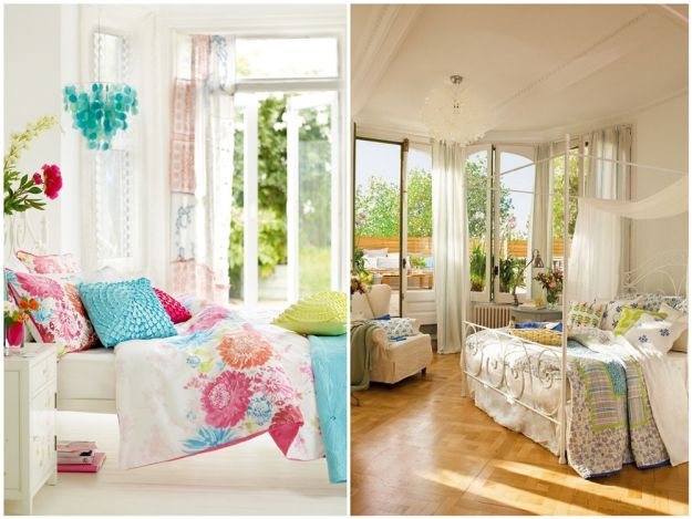 Sypialnia w letniej odsłonie