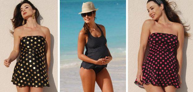 Ciążowe stroje kąpielowe