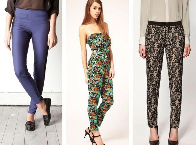 Przegląd kolekcji spodni i szortów na sezon wiosna/lato 2012