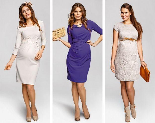 Sukienki ciążowe. Źródło: http://polki.pl/rodzina/ciaza,ubrania-ciazowe-na-jesien-i-zime,10079054,artykul.html