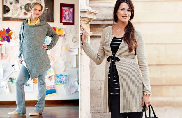 Ubrania ciążowe na jesień