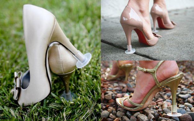 Podpórka do obcasów - gadżet do butów ślubnych