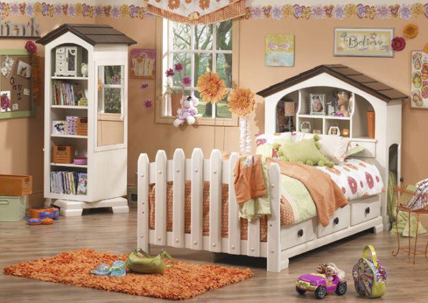Bajeczny pokój dla dziewczynki