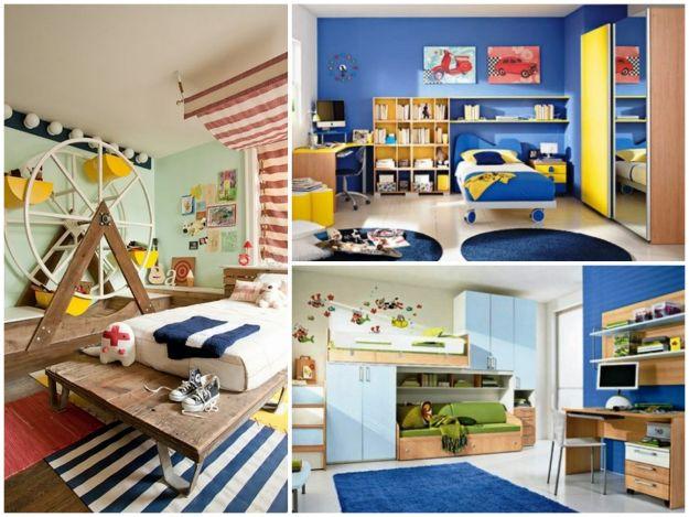 pomysłowy pokoj dla chłopca