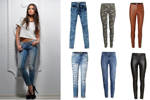 Modne spodnie i jeansy - jesień/zima2014