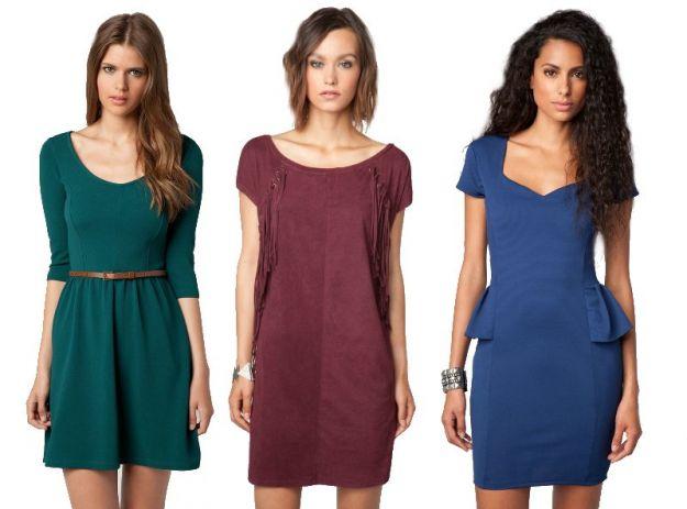 Nowe kolekcje - sukienki na jesień i zimę