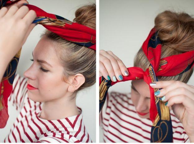 10 ozdób do włosów - DIY