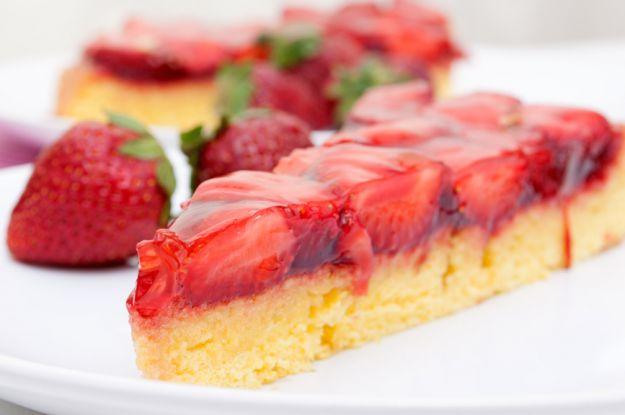 Słodkie desery z galaretką
