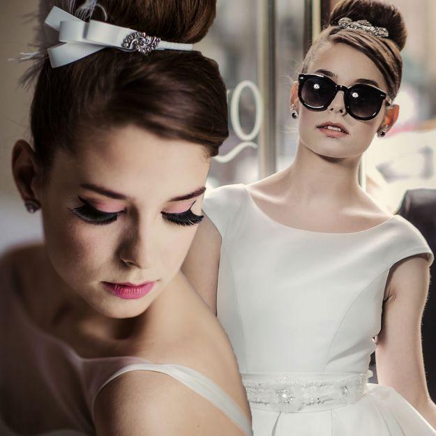 Panna młoda i sesja ślubna - stylizacja na Audrey Hepburn