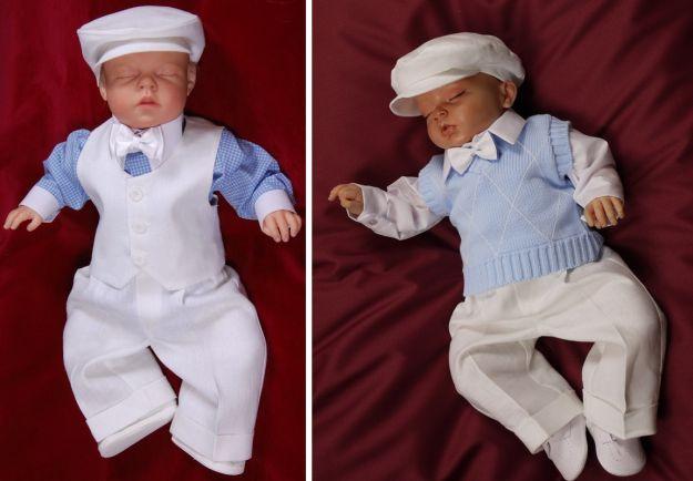 Modne ubranka do chrztu