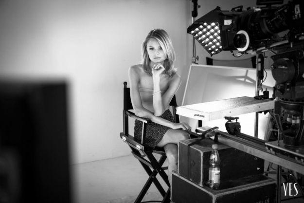 Magdalena Frąckowiak w kalendarzu YES 2013 - zdjęcia z back stage'u!