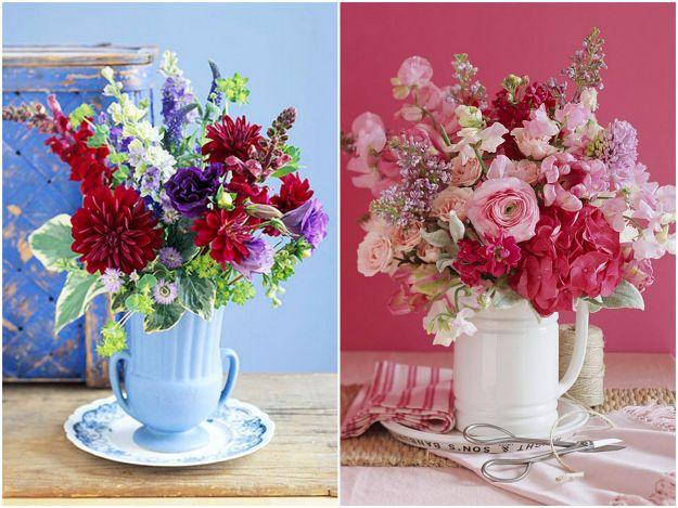 ciekawe aranżacje kwiatowe