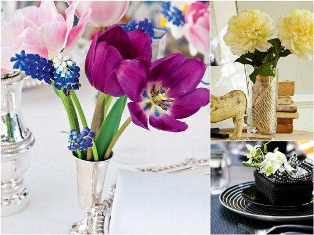 bukiet kwiatów do mieszkania