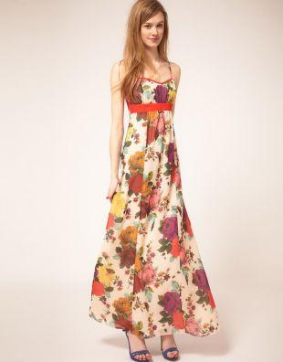 D�uga sukienka/sp�dnica dla niskiej kobiety