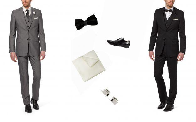 Modne garnitury ślubne