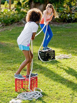 5 aktywnych zabaw na wiosnę