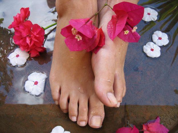 Sposoby na przesuszone stopy