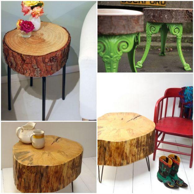 Oryginalny stolik, który zrobisz sama