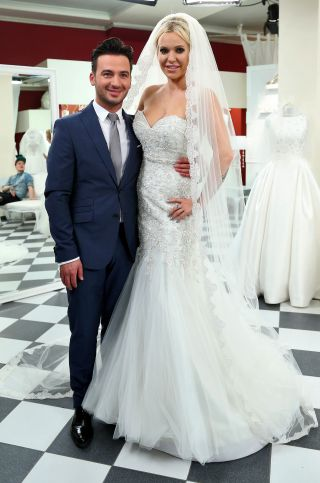Co s�dzisz o sukni �lubnej Doroty Rabczewskiej?