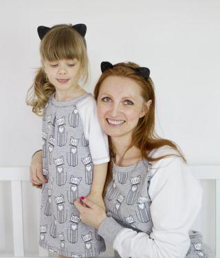 Mama i dziecko ubrane w takim samym stylu - co s�dzisz?