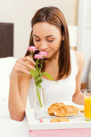 Jak cz�sto serwujesz ukochanej osobie �niadanie do ��ka?