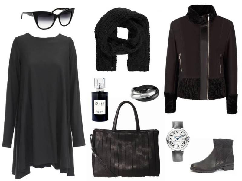 Czarny Total Look Na Jesie Trendy Moda Wiesz Jak